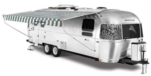 Airstream Tommy Bahama Special Edition Travel Trailer