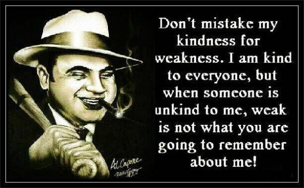 Image result for mob quotes al capone