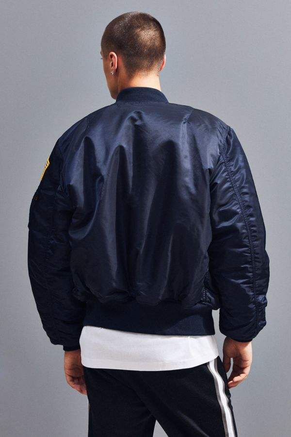 Alpha Industries MA-1 Nasa Slim Fit Bomber Jacket - Image 2