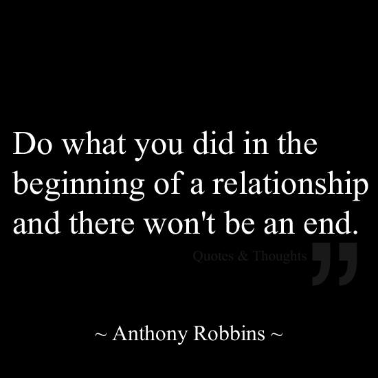 Tony robbins relationship advice