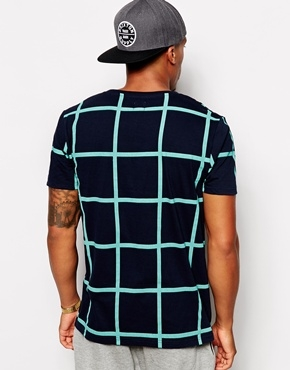 ASOS T-Shirt With All Over Check Print - Image 2