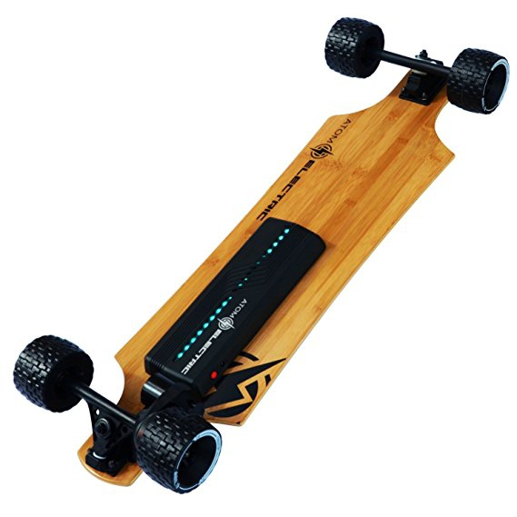 Atom Electric B10X All-Terrain Longboard Skateboard - Image 2