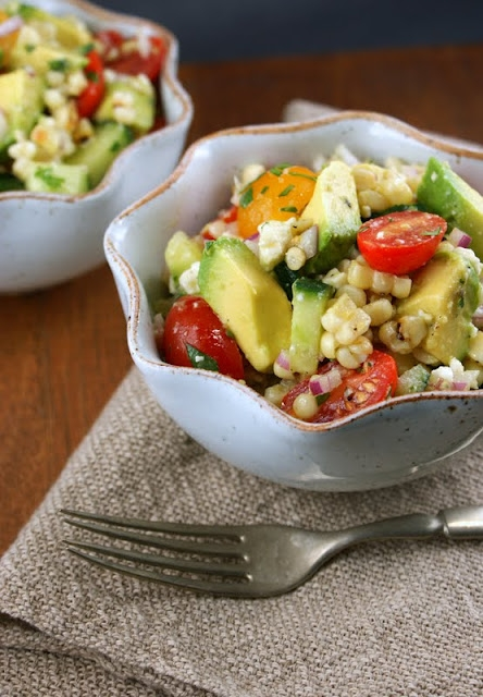 Avocado and Grilled Corn Salad with Cilantro Vinaigrette - Image 2