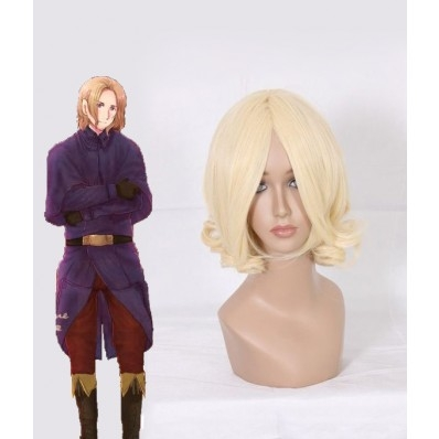 Axis Power Hetalia Francis Bonnefoy cosplay wig