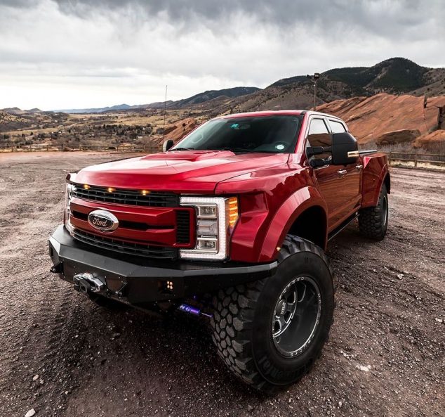 BA-350 Stage 2 from Defco Trucks - Think SuperDuty Raptor