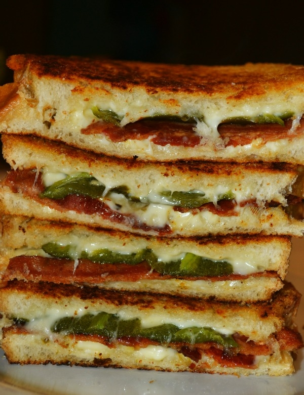Bacon & Jalapeno Popper Grilled Cheese Sandwiches - Image 2