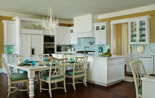 Beach house kitchen for Beach house kitchen ideas