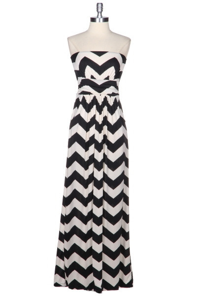 Find great deals on eBay for black and white chevron maxi dress. Shop with confidence.