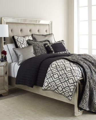 black white grey bedding set. Black Bedroom Furniture Sets. Home Design Ideas