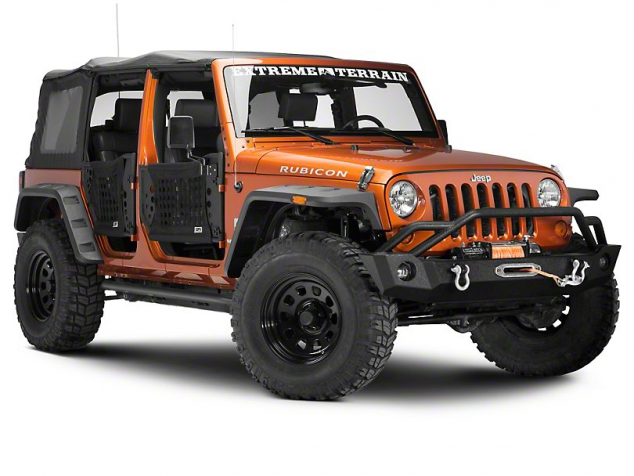 Body Armor Gen III Trial Doors for Jeep Wrangler - Image 2