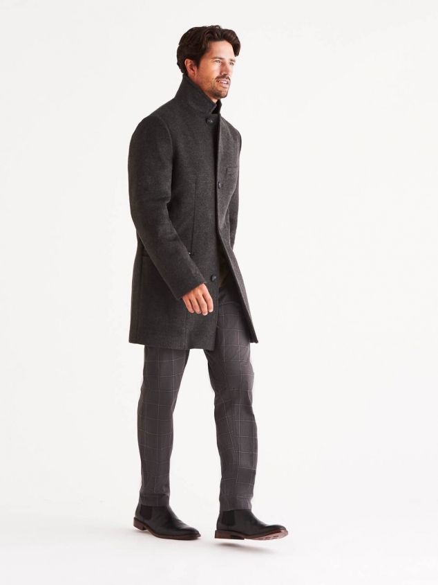 Bordin Stormlux Wool Cashmere Overcoat