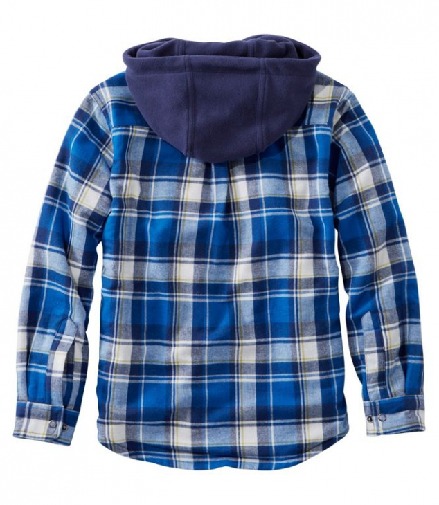 Boys' Fleece-Lined Flannel Shirt - Image 3