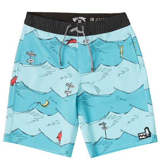 Boys' One Fish Two Fish Layback Boardshort
