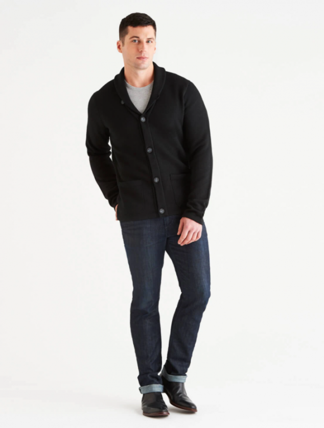 Brixton LuxCore Cashmere Cardigan