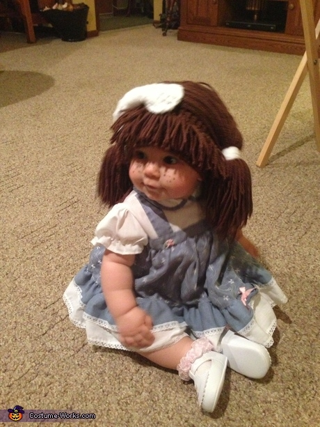 Cabbage Patch Doll Halloween costume