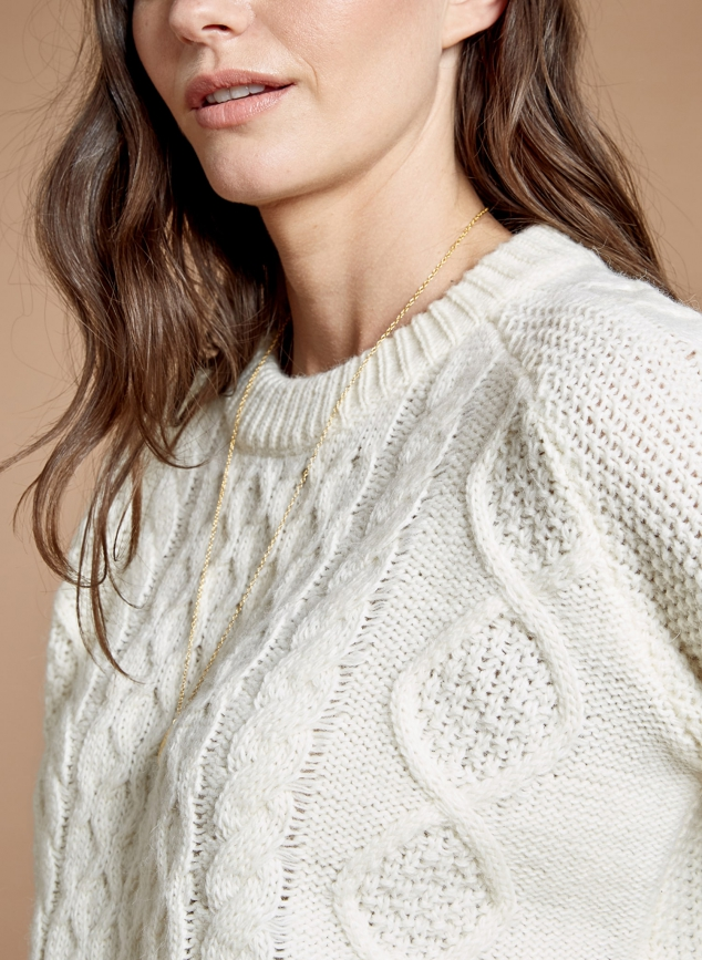 Camilla Cable Knit Jumper - Image 2