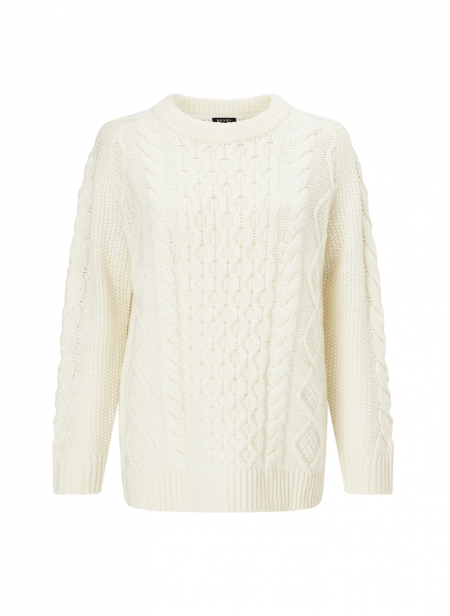 Camilla Cable Knit Jumper - Image 3