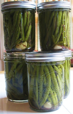 Canning Pickled Green Beans