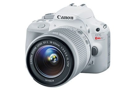 Canon EOS Rebel SL1 EF-S 18-55mm IS STM Kit White