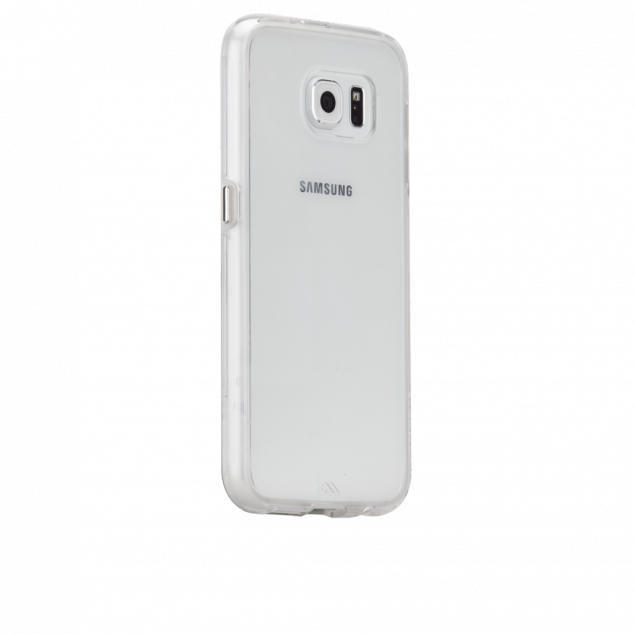 Case-Mate Naked Tough Case - Clear W/ Clear Bumper for Samsung Galaxy S6