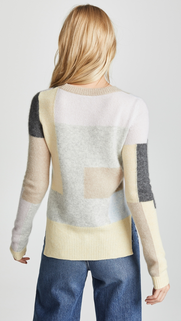 Cashmere Patchwork Sweater designed by Adam Lippes - Image 3