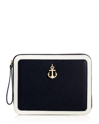 Charm Wristlet iPad Zip Case