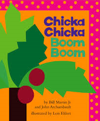 Chicka Chicka Boom Boom Book and Snack