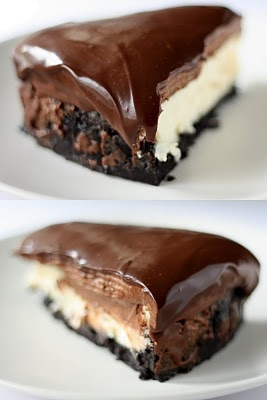 Chocolate Mousse Cheesecake - FaveThing.com