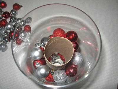 Christmas Ornaments In A Vase Favething