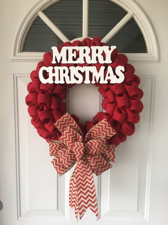 Christmas Wreath for the Front Door by NaturesDoorway