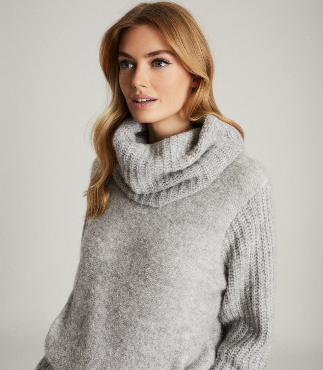 Chunky Roll-Neck Jumper - Image 2