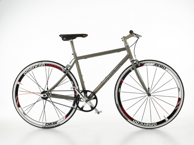 City Rider - Titanium single-speed bike from The Urban Bike ...