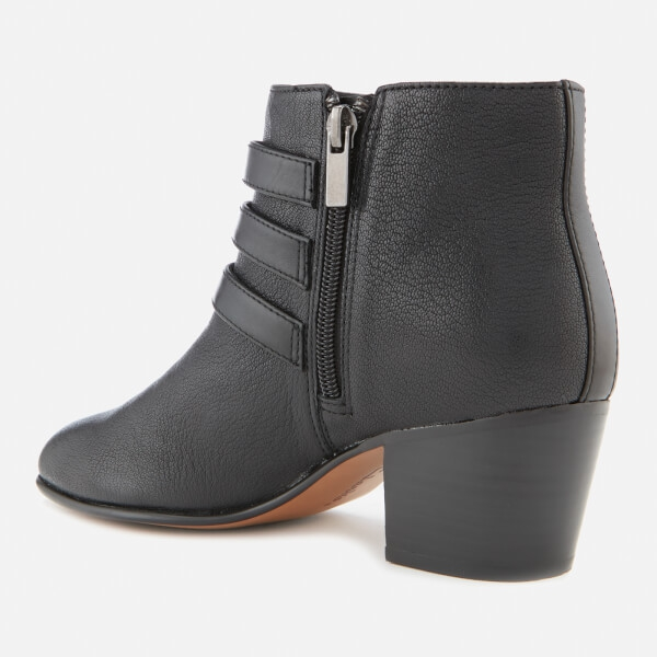 Clarks Women's Maypearl Rayna Tumbled Leather Heeled Ankle Boots - Image 2
