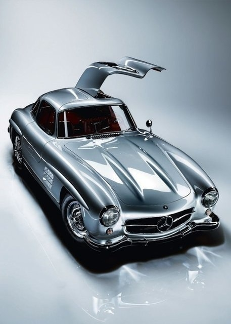 Classic Mercedes Benz 300sl Gull Wing