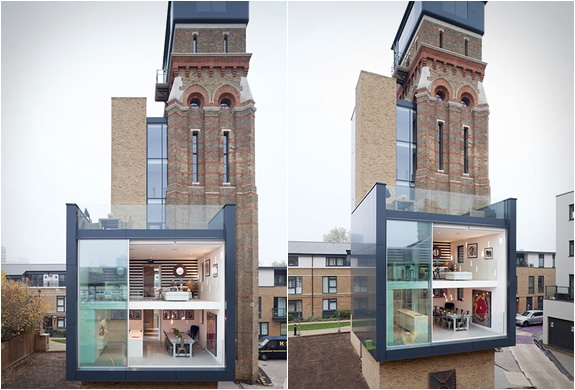 Converted London Water Tower - Image 3