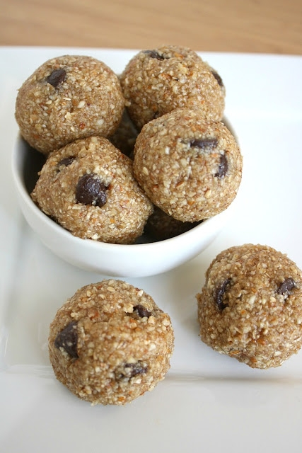 Cookie Dough Bites in Healthy Food Ideas