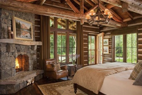 Cottage master bedroom FaveThingcom