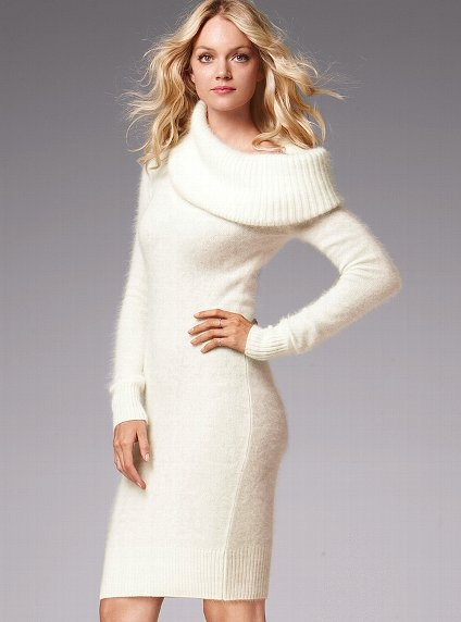 Cowlneck Sweaterdress from Victoria's Secret