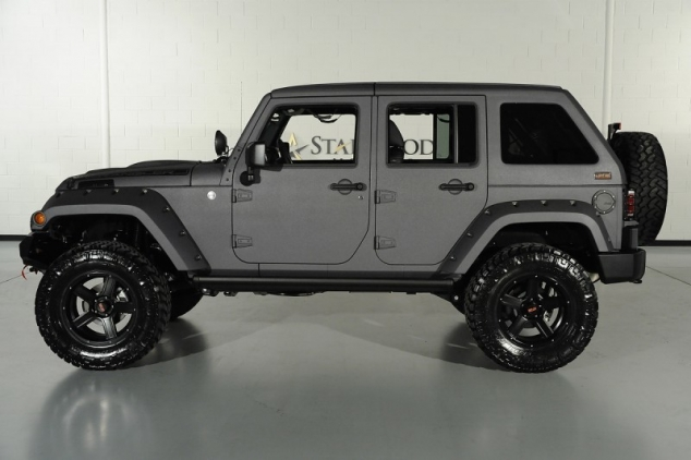 Custom Grey Fastback Jeep Wrangler From Starwood Motors