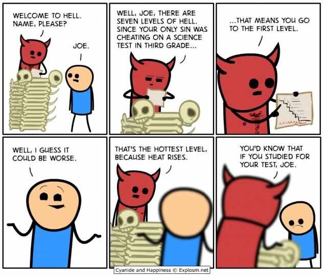 Cyanide and Happiness funny comic