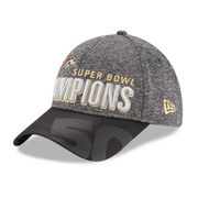 Denver Broncos New Era Super Bowl 50 Champions Trophy Collection Locker Room 9FORTY Adjustable Hat