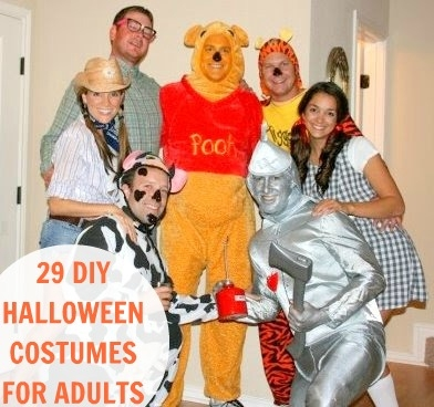 DIY Adult Halloween Costumes  sc 1 st  FaveThing.com & DIY Adult Halloween Costumes - FaveThing.com