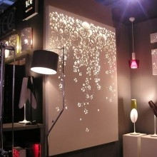Do It Yourself Wall Light : Christmas Light Wall Art Ideas Christmas Decorating