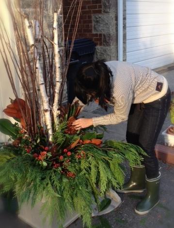 Christmas Planters Diy.Diy Christmas Planters Favething Com