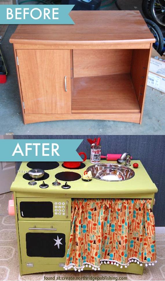 Кухня из старой мебели видео