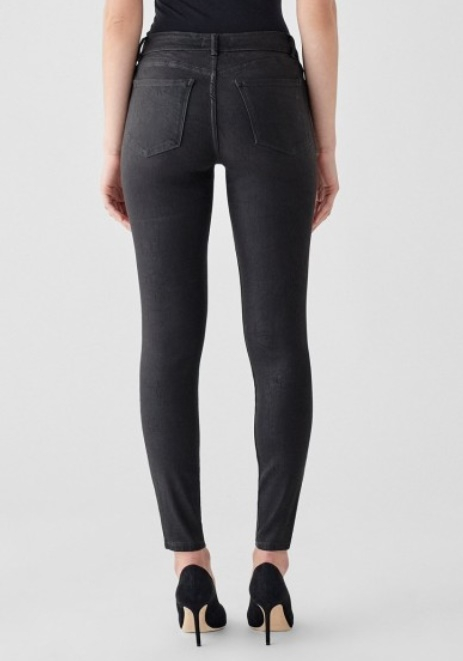 DL1961 Florence Ankle Mid-Rise Skinny Jeans - Image 2