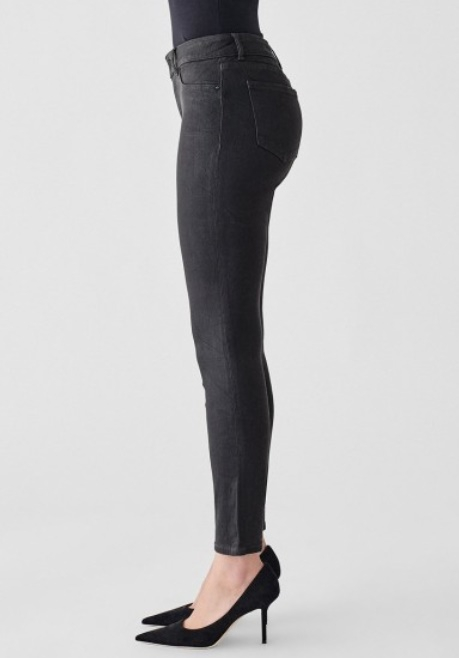 DL1961 Florence Ankle Mid-Rise Skinny Jeans - Image 3