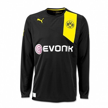 Dortmund 2012-13 Long Sleeve Away Kit