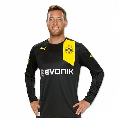 Dortmund 2012-13 Long Sleeve Away Kit - Image 2