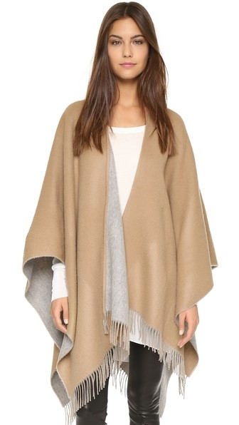 Double Sided Poncho by Rag & Bone